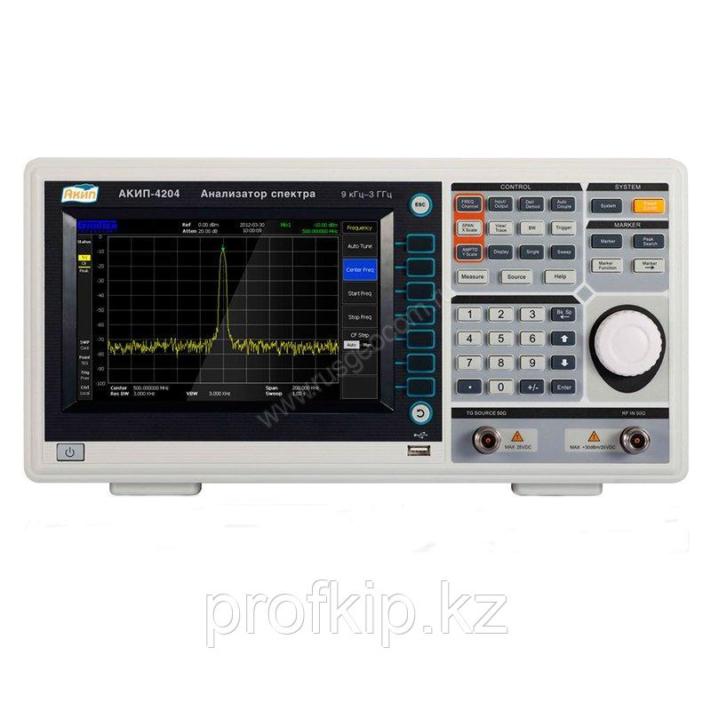 Анализатор спектра АКИП 4204/TG