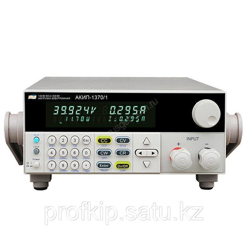 Программируемая электронная нагрузка постоянного тока АКИП-1370/1