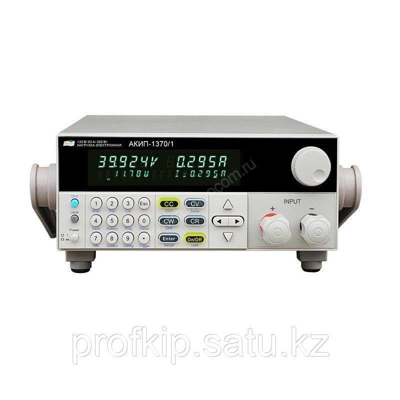 Программируемая электронная нагрузка постоянного тока АКИП-1370/2