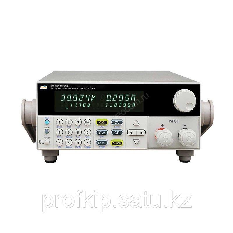 Программируемая электронная нагрузка постоянного тока АКИП-1383/2