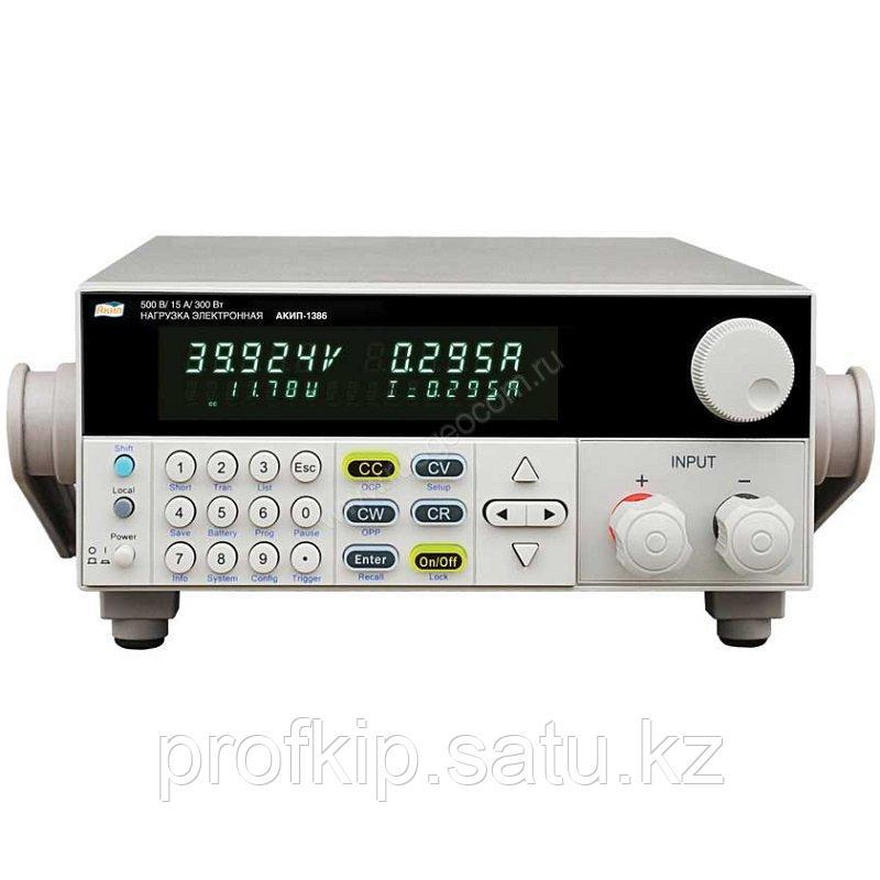 Программируемая электронная нагрузка постоянного тока АКИП-1386