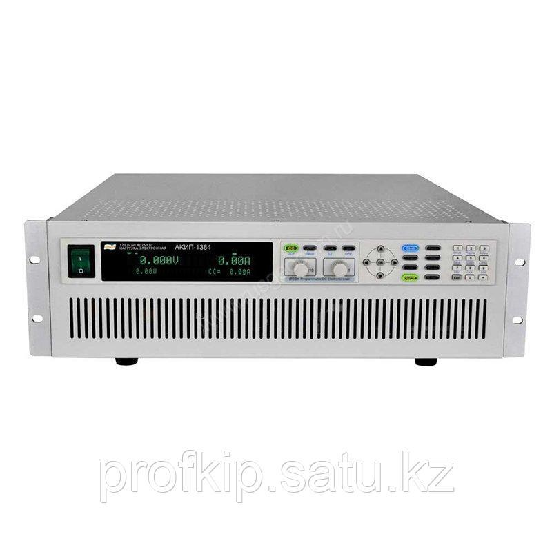 Программируемая электронная нагрузка постоянного тока АКИП-1384