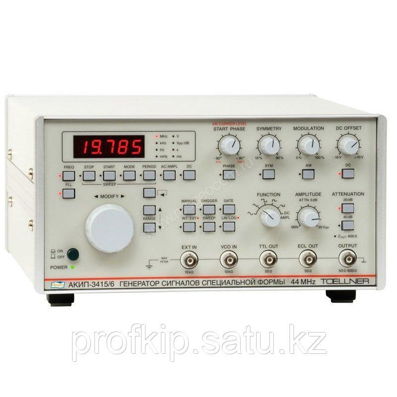 Функциональный генератор АКИП-3415/4