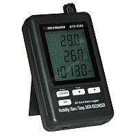 Измеритель-регистратор температуры, влажности, давления Актаком АТЕ-9382