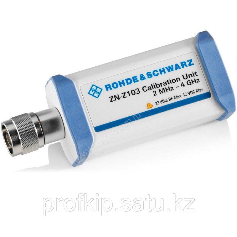 Электронный 1-портовый калибровочный модуль Rohde&Schwarz ZN-Z103 для векторных анализаторов цепей