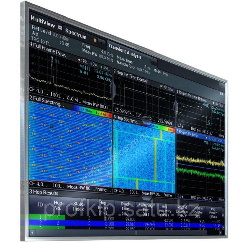 Анализ сигналов со скачкообразной перестройкой частоты Rohde&Schwarz FSW-K60H для анализаторов спект ...
