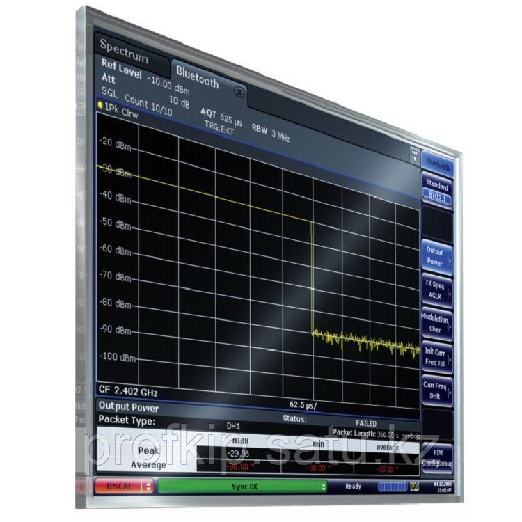 Измерение сигналов Bluetooth/EDR Rohde&Schwarz FSV-K8 для анализаторов спектра и сигналов