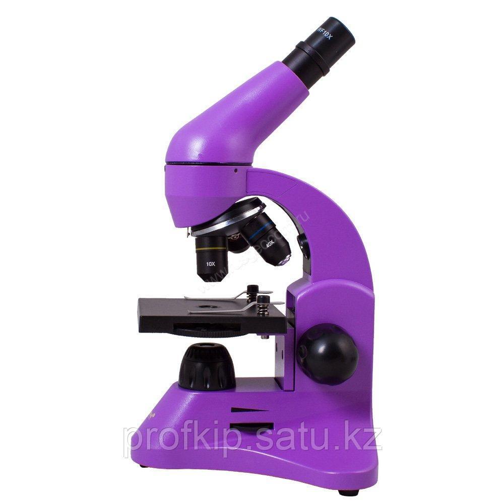 Микроскоп Levenhuk Rainbow 50L Amethyst (Аметист)