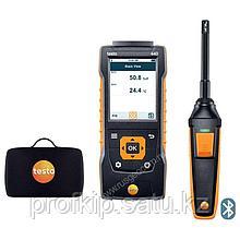 Комплект Testo 440 с Bluetooth-зондом влажности и температуры и кейсом