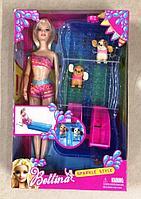 Кукла Bettina водные горки с щенками