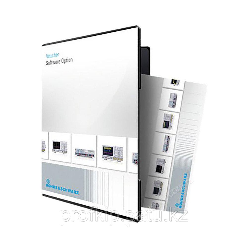 Опция перекрывающий анализ и измерения на основе FFT Rohde & Schwarz UPP-K602