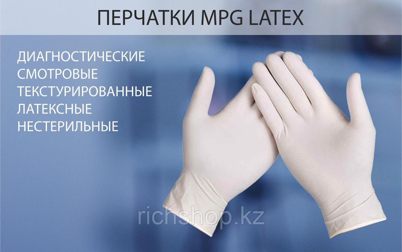 Перчатки латекс 50 пар/уп размер S,M,L - фото 4