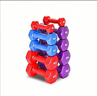 Гантели для фитнеса 2 кг (1 кг + 1 кг)