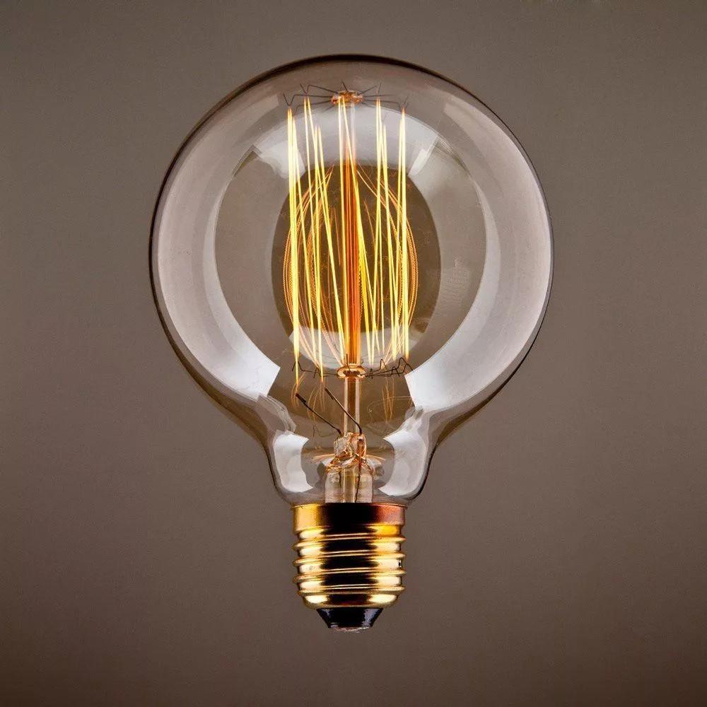 "Ретро лампа ""Большой Шар"" G125 40W"