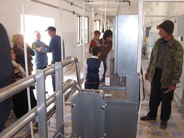 Перерабатывающий молочный завод на 6000 л/сутки