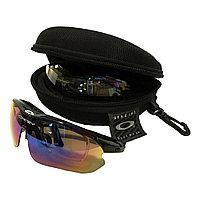 Очки солнцезащитные поляризационные со съёмными линзами окей. очки OKEY новые в магазине