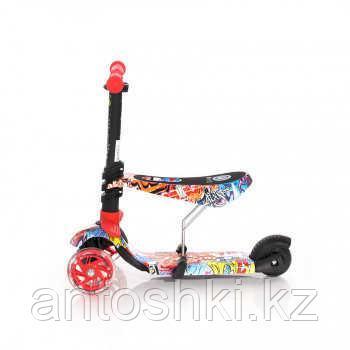 Самокат 3-х колёсный Lorelli SMART,цвет красный,розовый,синий. - фото 1