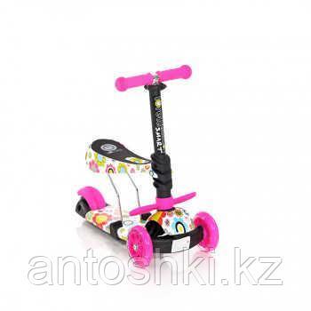 Самокат 3-х колёсный Lorelli SMART,цвет красный,розовый,синий. - фото 2