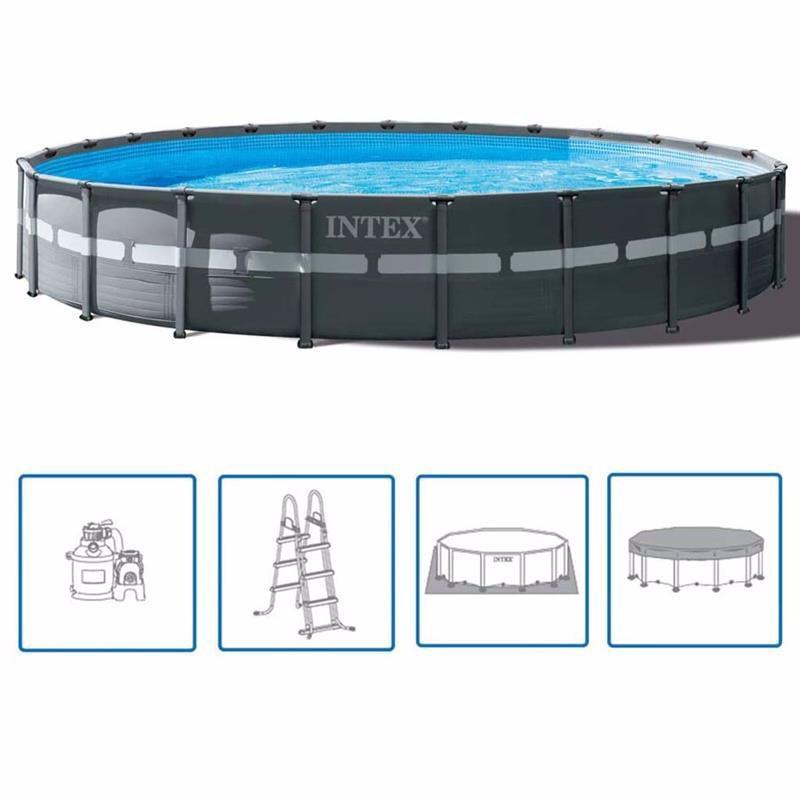 Каркасный бассейн Ultra XTR Frame 549 х 132 см, INTEX, 26330NP