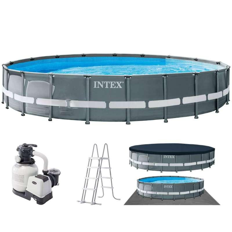 Каркасный бассейн Ultra XTR Frame 732 х 132 см, INTEX, 26340NP