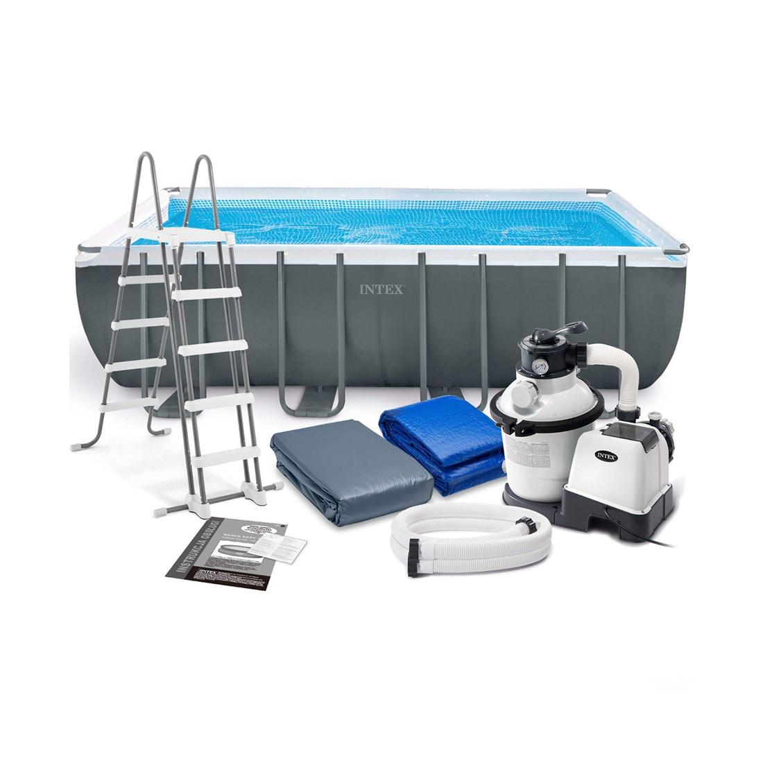 Каркасный бассейн Ultra XTR Frame 549 х 274 x 132 см, INTEX, 26356NP