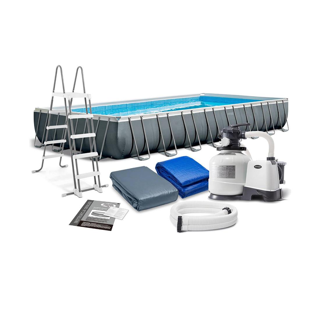 Каркасный бассейн Ultra XTR Frame 975 х 488 x 132 см, INTEX, 26374NP