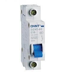 Автоматический выключатель DZ47-60 1Р 6А 4.5кА х-ка C (CHINT)