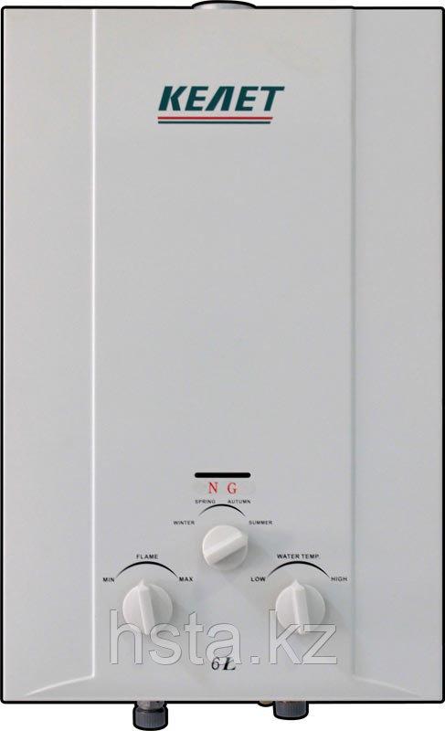 Газовый проточный водонагреватель Келет JSD12-6/NG