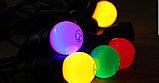 Гирлянда белт лайт навесная, светодиодный led belt light, ретро гирлянда, гирлянда для кафе, фото 3