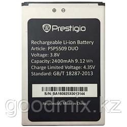 Аккумулятор для Prestigio Muze K5 5509 Duo (PSP5509 DUO, 2400 mAh)