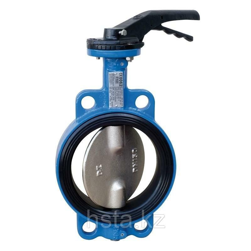 Затвор дисковый поворотный 16 бар- DN 150