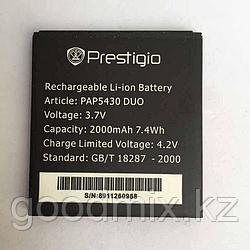 Аккумулятор для Prestigio MultiPhone 5430 Duo (PAP5430 Duo, 2000mah)
