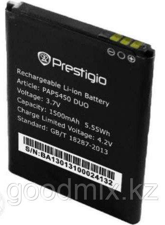 Аккумулятор для Prestigio MultiPhone 5450 Duo (PAP5450 Duo, 1500mah)