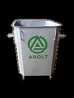 Мусорный контейнер для ТБО 0.75 м3 на колесах без крышки