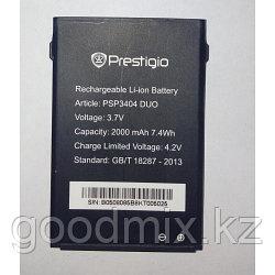Аккумулятор для Prestigio MultiPhone 3404 Duo (PAP3404 Duo, 2000mah)