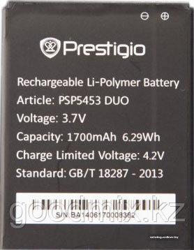 Аккумулятор для Prestigio Multiphone 5453 Duo (PAP5453 Duo, 1700 mah)