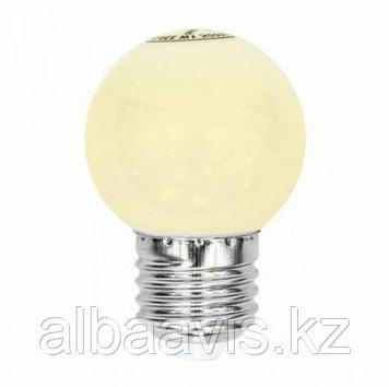 Cветодиодная лампа 1 w, цоколь E 27 2800-6500K. Лампы для Белт Лайта.
