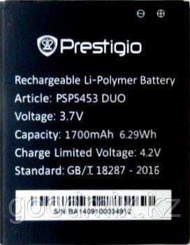 Аккумулятор для Prestigio MultiPhone 5453 Duo (PSP5453 Duo, 1700mah)