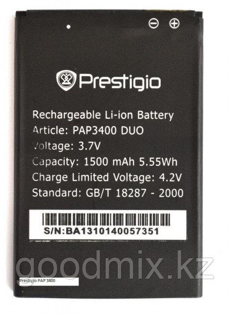 Аккумулятор для Prestigio PAP3400 DUO (PAP3400 Duo,1500mah)
