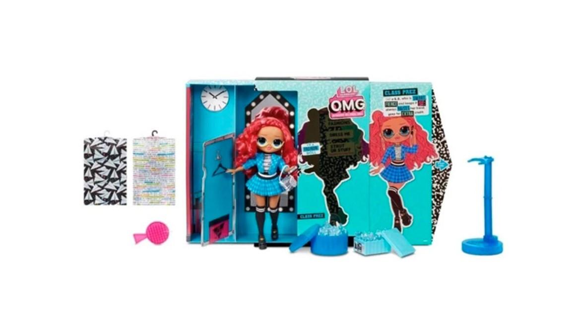 Кукла Lol Omg 3 Class Prez - фото 3