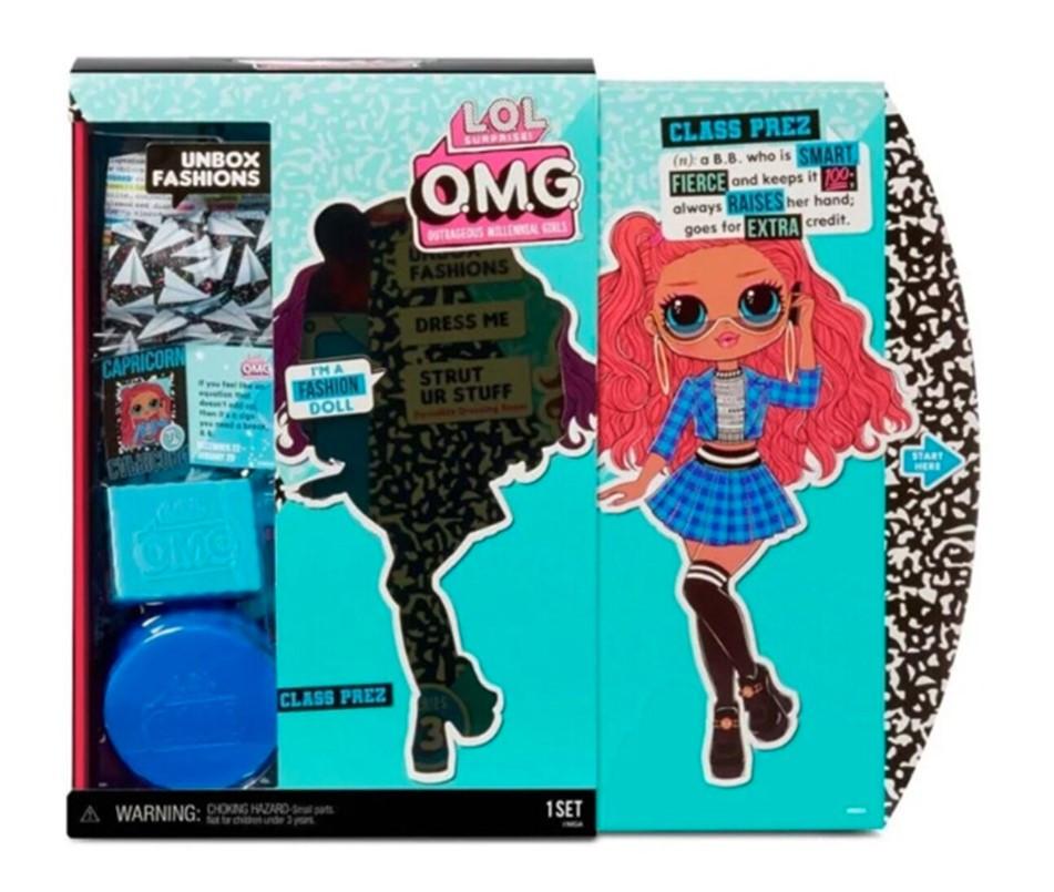 Кукла Lol Omg 3 Class Prez - фото 5