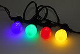 Лампы светодиодные Шарик 1 ватт .E27 , лампа для гирлянды belt light, фото 7