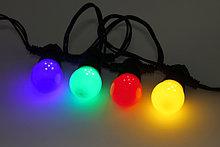 Лампы для гирлянд Belt light, лампы разных цветов свечения, лампы шарики, лампы для белт лайта