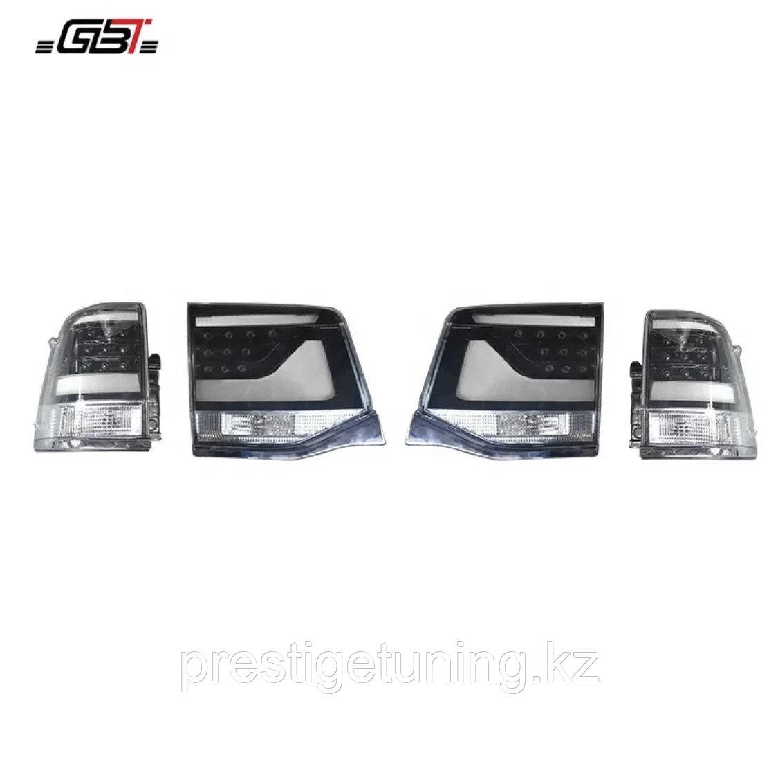 Задние фонари на Land Cruiser 200 2016-21 Белые