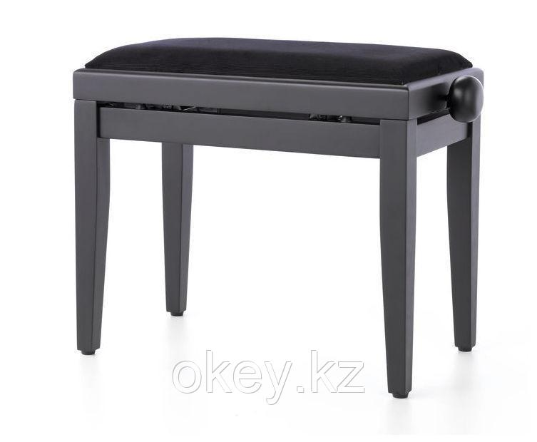 Th: Стул для цифрового пианино KB-15 (банкетка, черный)