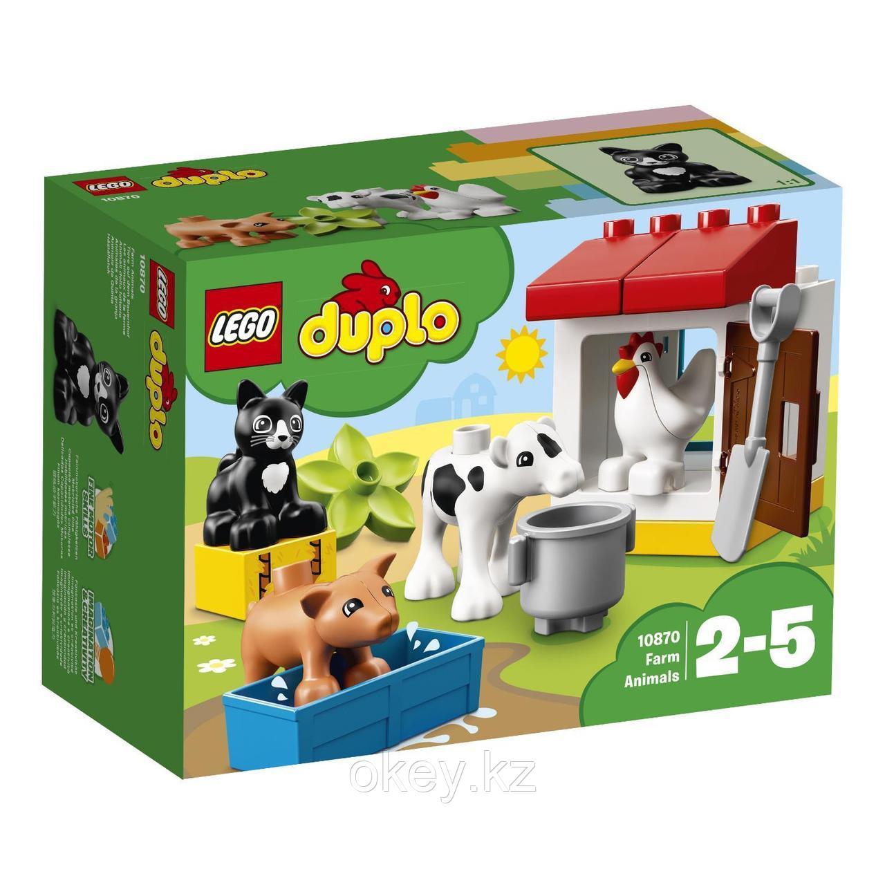LEGO Duplo: Ферма: Домашние животные 10870