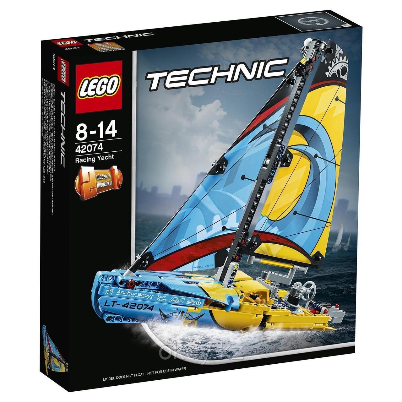 LEGO Technic: Гоночная яхта 42074