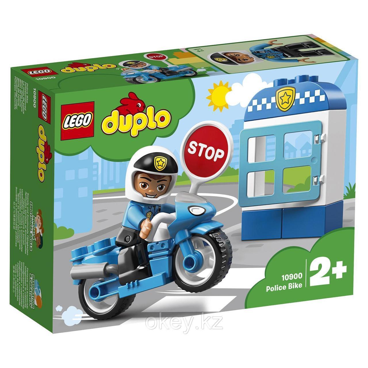 LEGO Duplo: Полицейский мотоцикл 10900