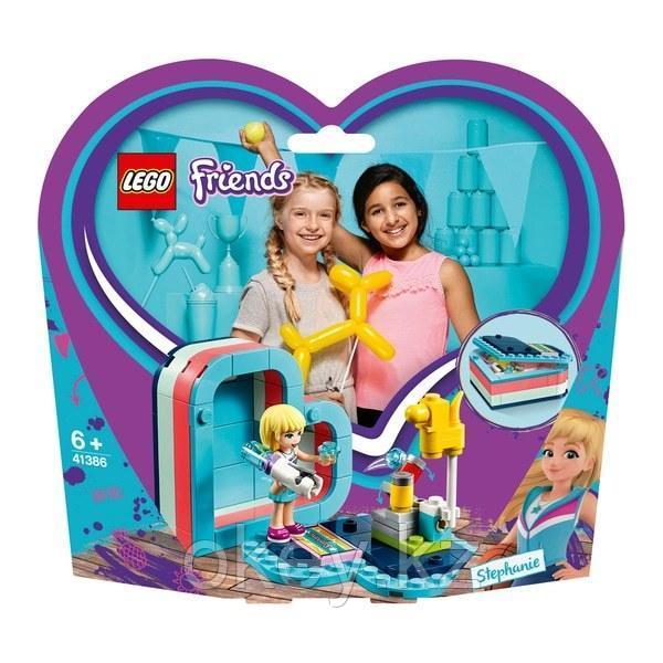 LEGO Friends: Летняя шкатулка-сердечко для Стефани 41386