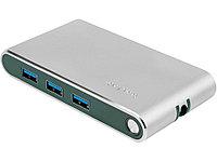 Хаб USB Rombica Type-C Hermes Green